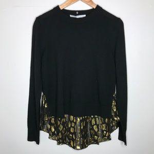 NWT Veronica Beard Concord Wool Silk Sweater